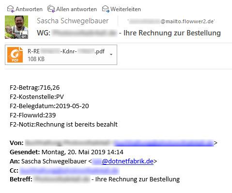 MailToFlowwer - Anleitung