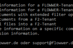 CLI Tool FLOWWER.exe einrichten.